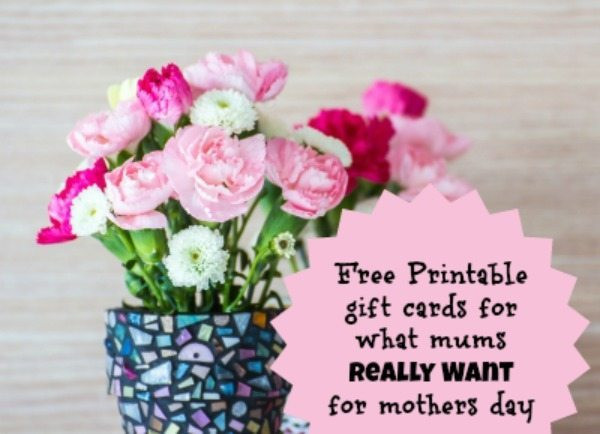 Gift Cards for Mother's Day Lovely 11 Mother S Day T Ideas Free Printable T Cards for