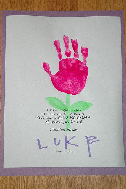 Mothers Day Ideas for Preschoolers to Make Lovely Lukie Preschool Project for Mother S Day 2007